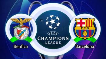 بنفيكا-و-برشلونة-دوري-ابطال-اوروبا-الجوله-الثانيه